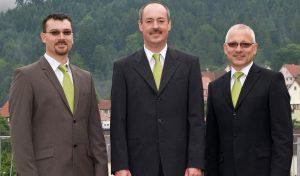 Vorstandschaft im Jubiläumsjahr 2011