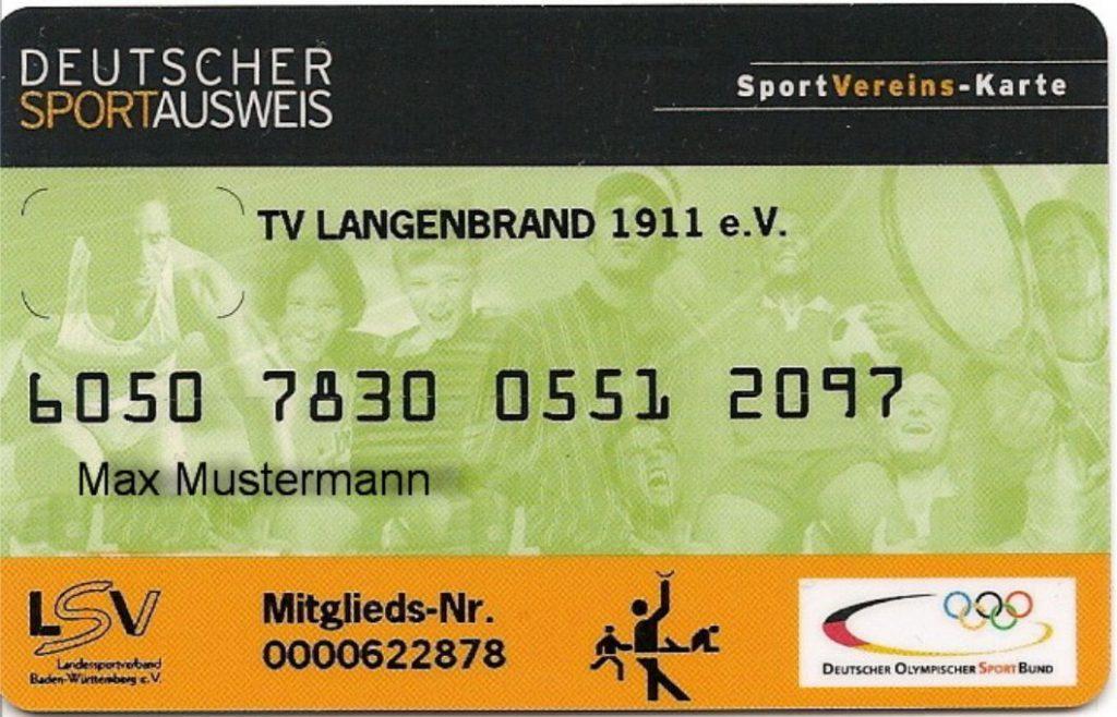 Mitgliedsausweis aus dem Jahr 2010