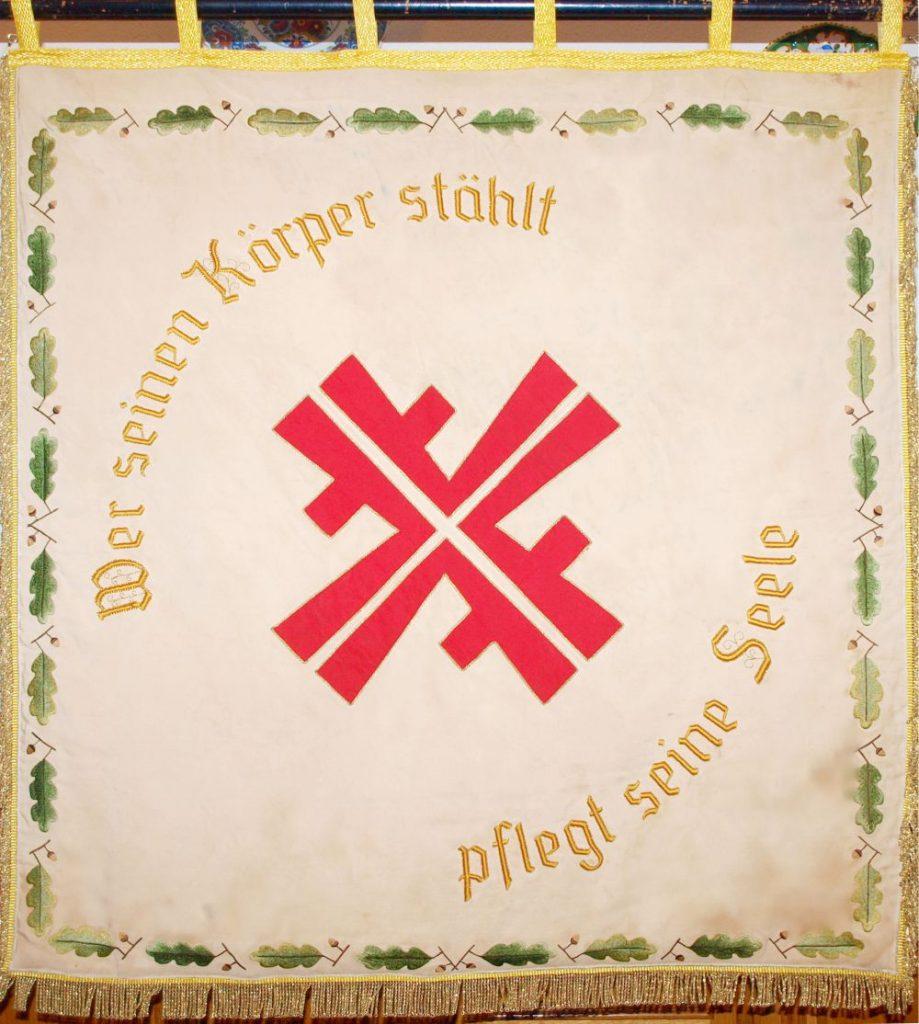 Vereinsfahne (Rückseite)