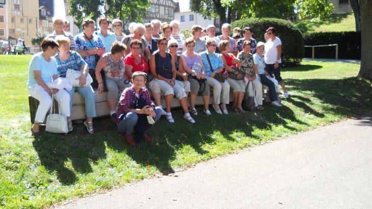 Herbstausflug der Hausfrauenturnerinnen nach Sigmaringen