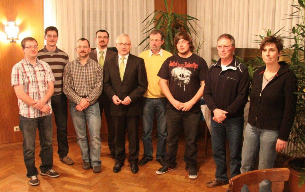 Verleihung der Mehrkampfnadeln 2012