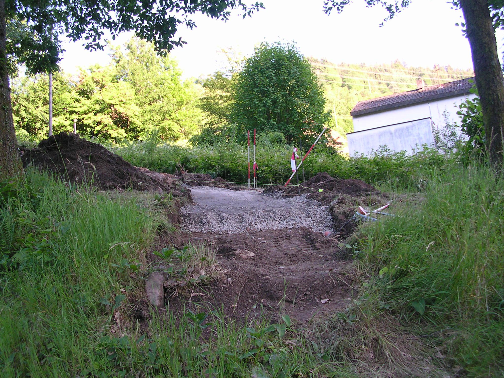 Neuer Zugangsweg zum Sportplatz Langenbrand (01)