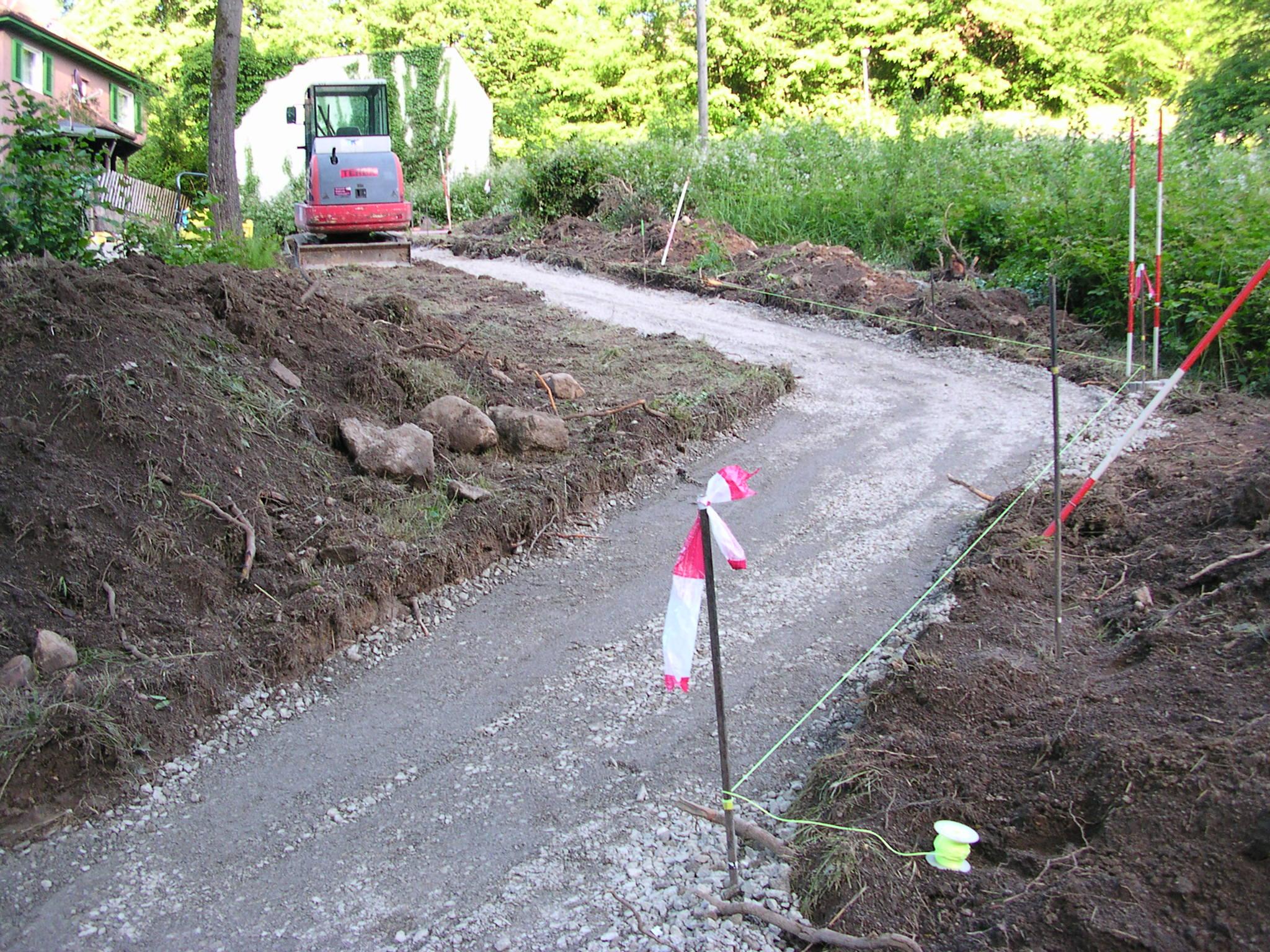 Neuer Zugangsweg zum Sportplatz Langenbrand (02)