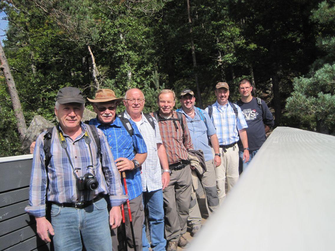 Ausflug der Jedermänner zum Triberg (1)