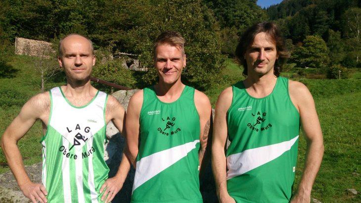 Die Marathonmänner der LAG Obere Murg beim 32. Baden-Marathon