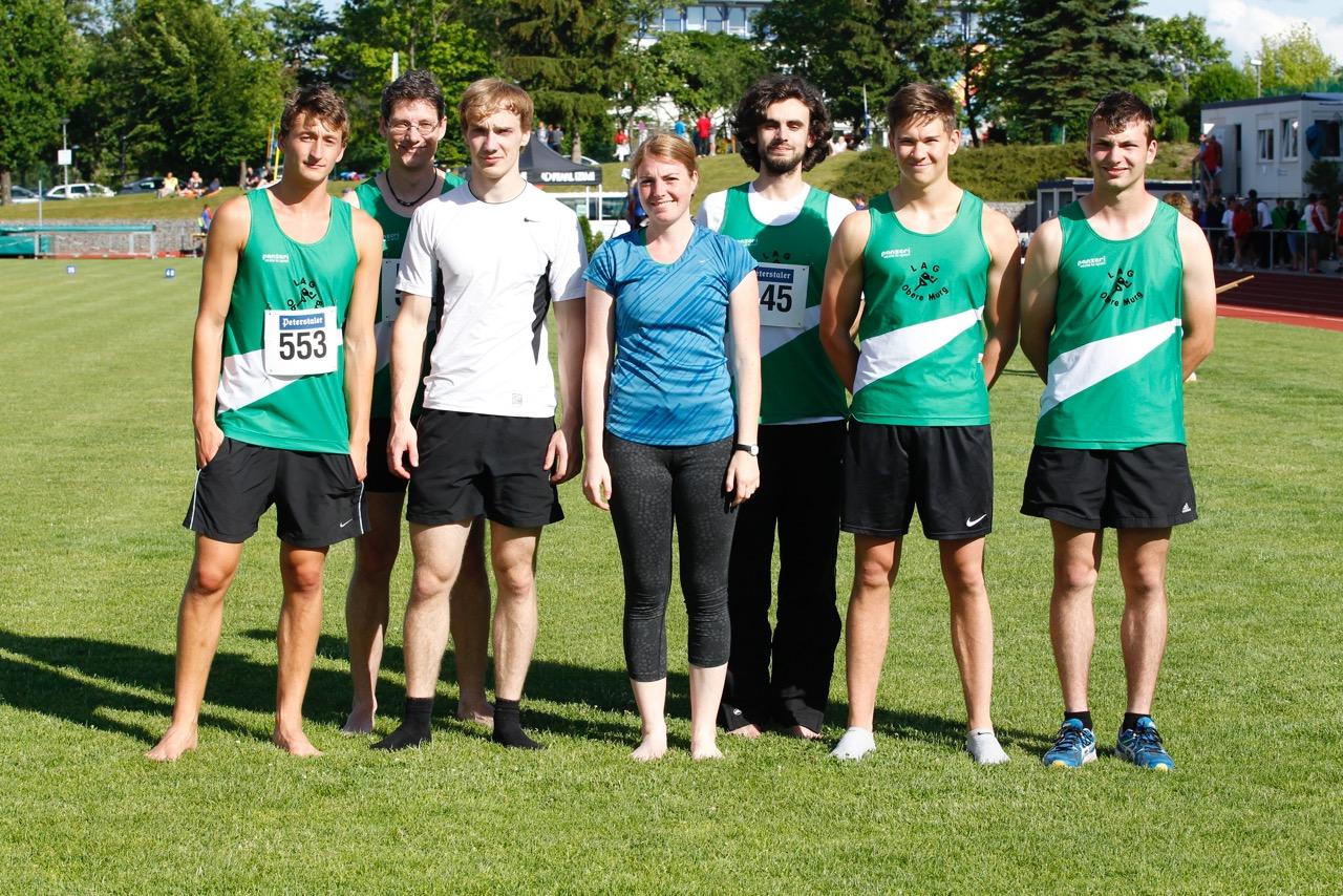 Badischen Meisterschaften 2015 am 13. und 14. Juni in Langensteinbach (1)