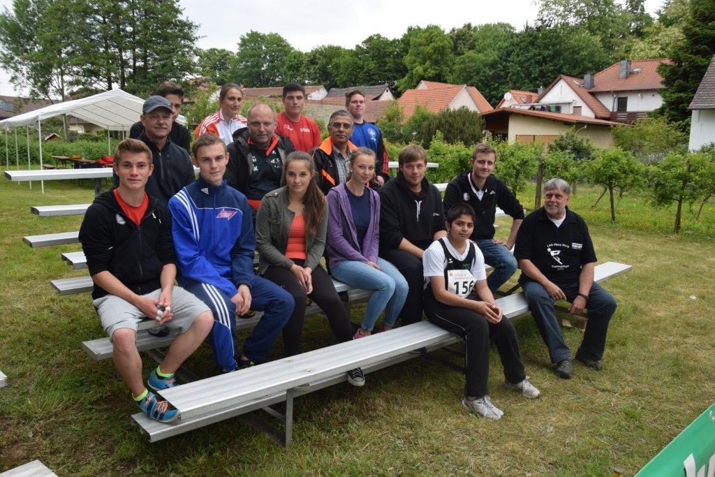 Internationales Hammerwurfmeeting in Fränkisch-Crumbach im Odenwald