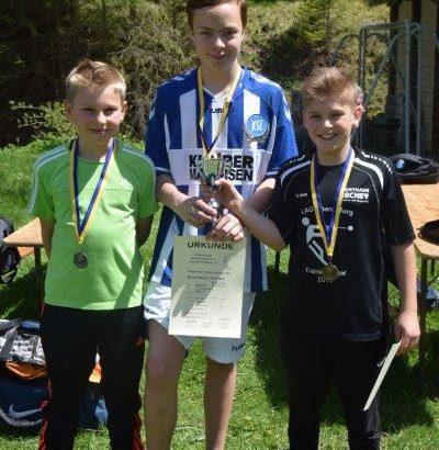 Die jungen Rasenkrafsportler bei den Südbadischen Meisterschaften in Furtwangen im Hochschwarzwald
