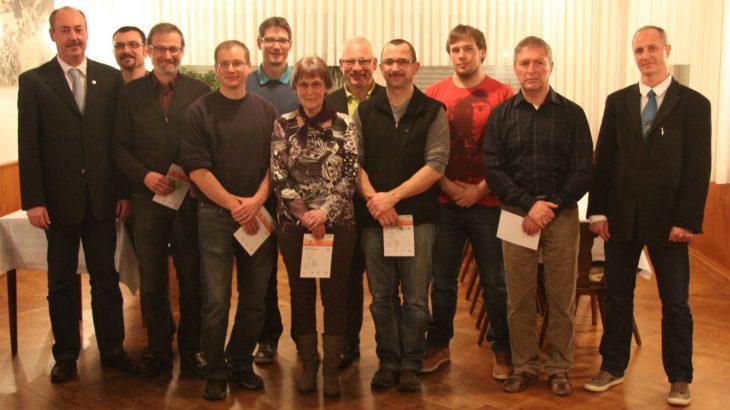 Die Jahreshauptversammlung 2015 des Turnverein Langenbrand
