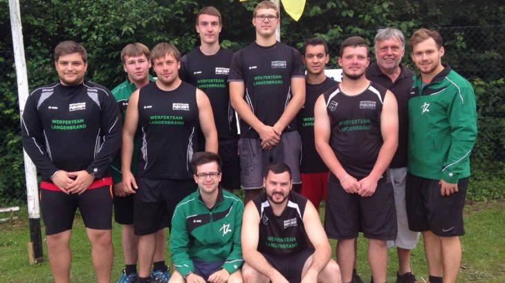 Internationale Deutsche Meisterschaften im Rasenkraftsport 2016 in Leichlingen