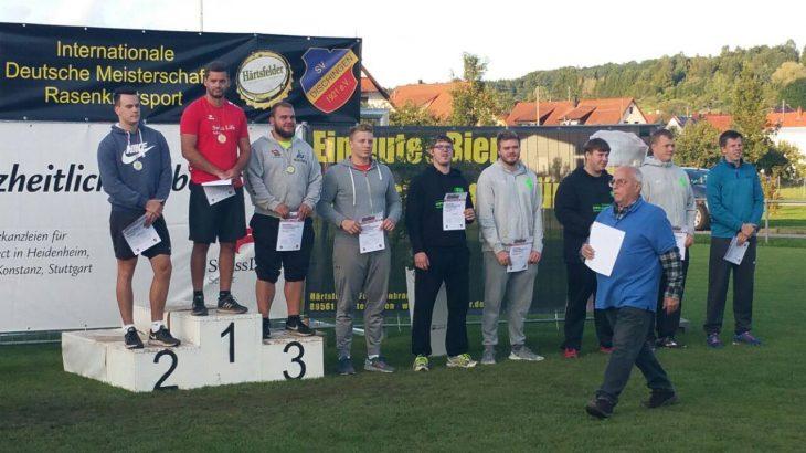 Deutsche Meisterschaften Rasenkraftsport in Dischingen (1)