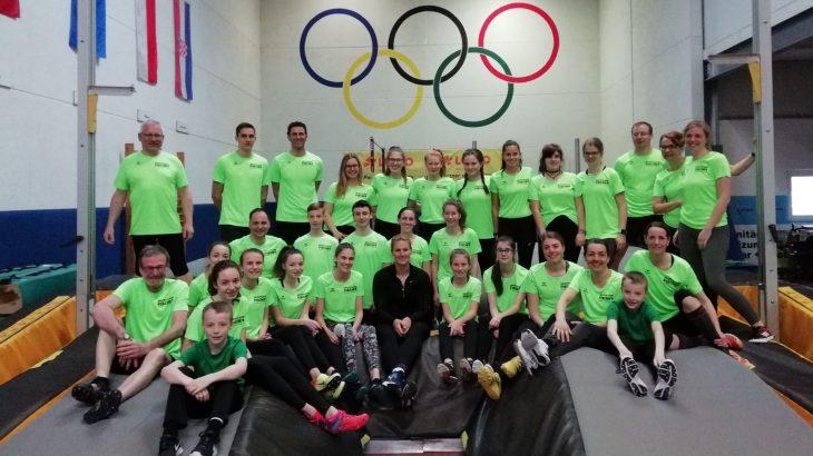 LAG Obere Murg trainiert am Olympiastützpunkt Zweibrücken