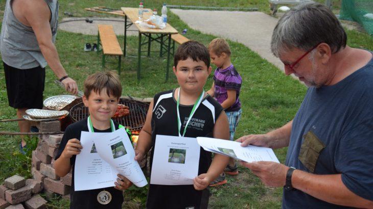 Sommerabschluss der Rasenkraftsportler mit Feriensportfest