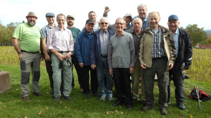 Das Team der Jedermänner nahe Loßburg