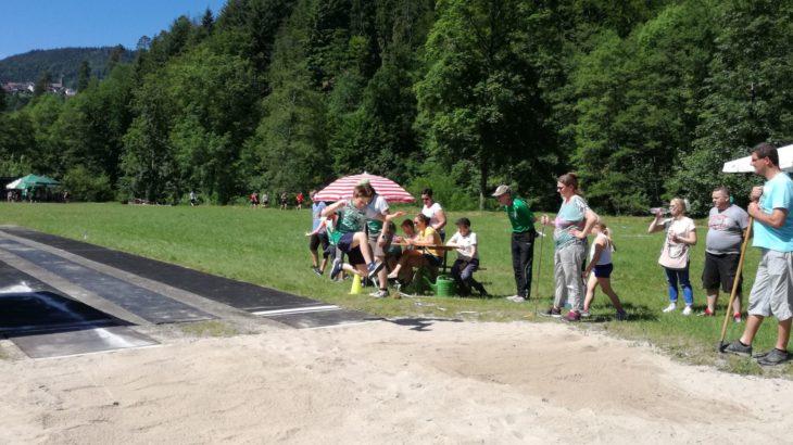 49. Volksleichtathletiktag in Langenbrand