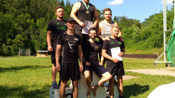 Badische Meisterschaften im Rasenkraftsport 2019