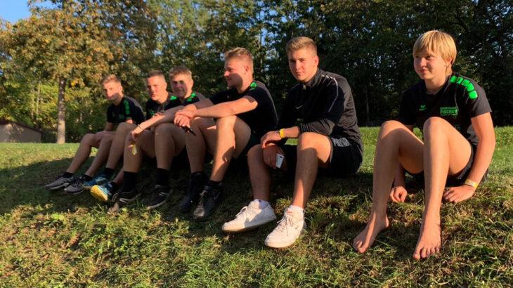 Langenbrander Rasenkraftsportler im Goldrausch bei den Deutschen Meisterschaften in Erfurt