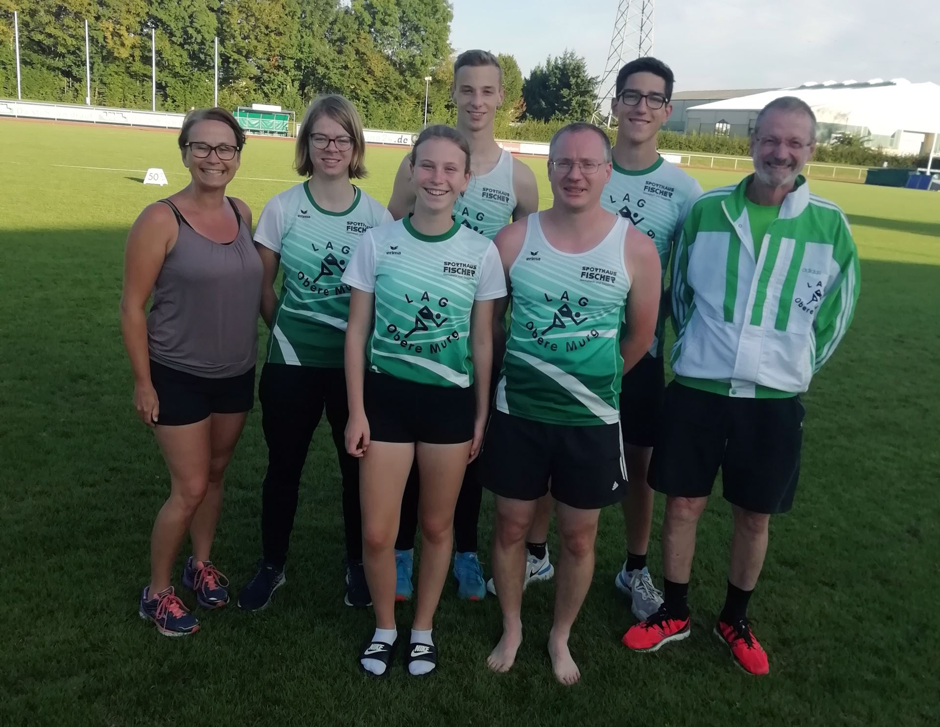 Athleten des LAG beim Mehrkampf-Meeting in Schutterwald