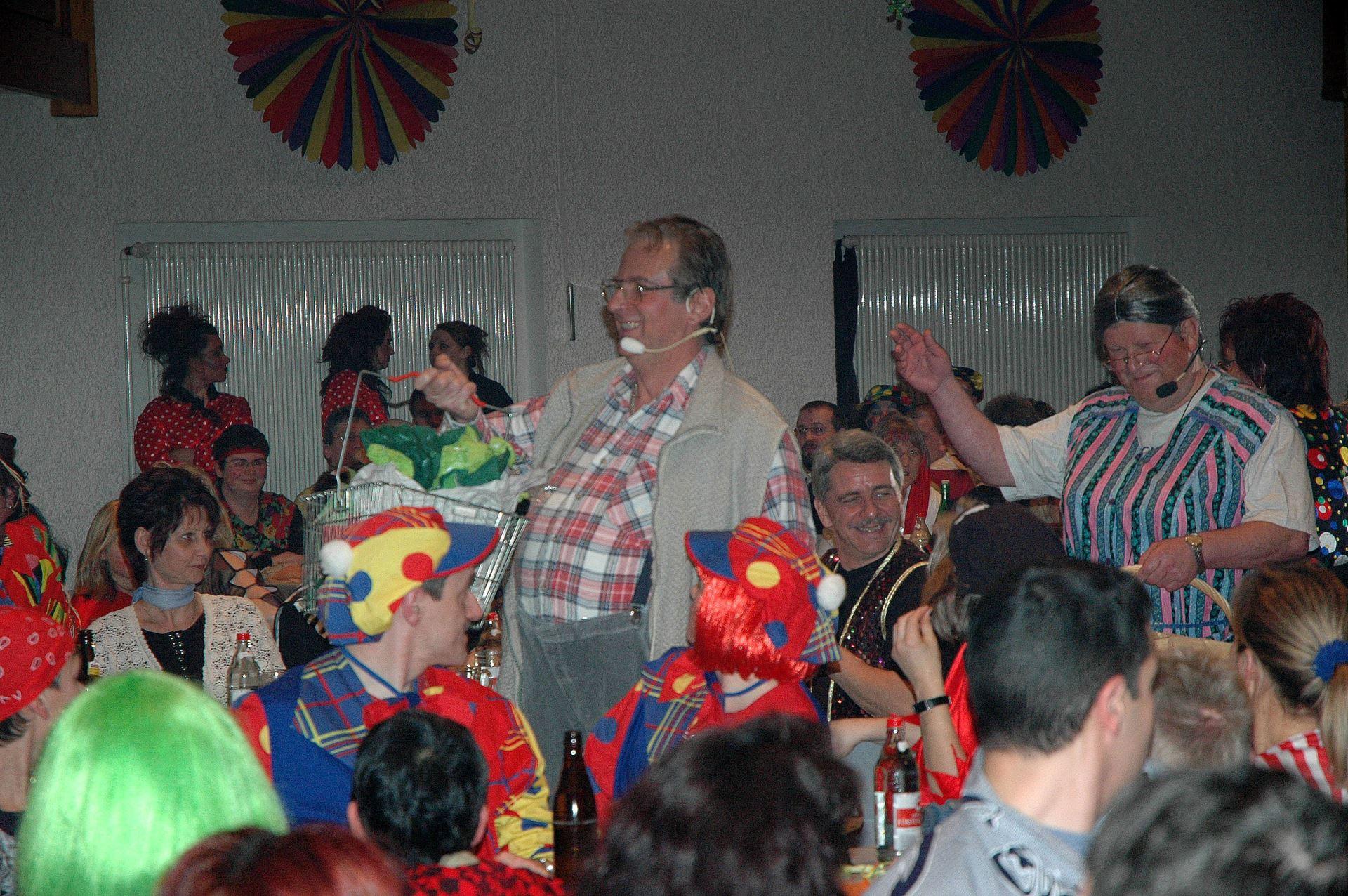 Fasentsitzung in Langenbrand 2005 (35)