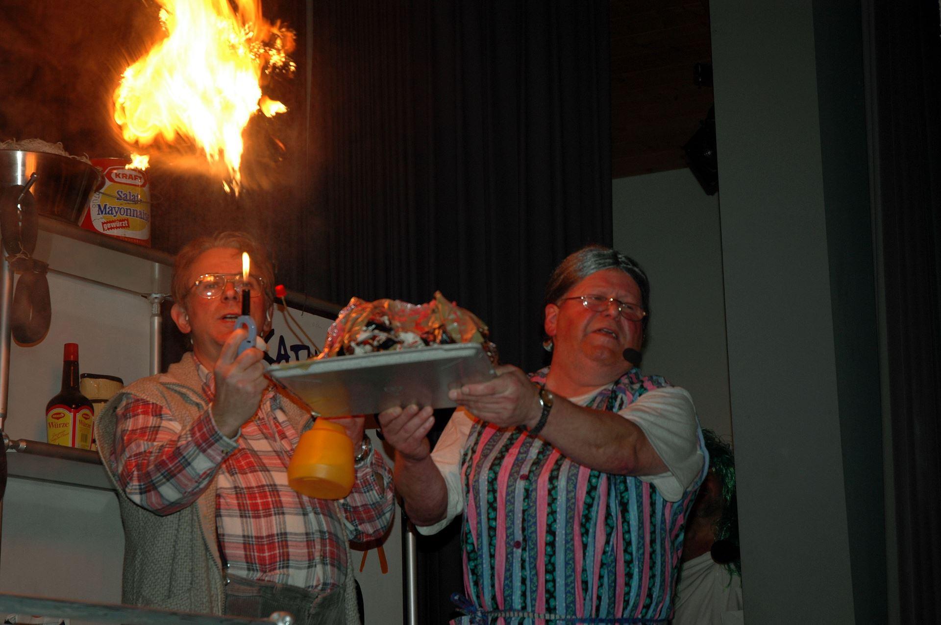 Fasentsitzung in Langenbrand 2005 (42)