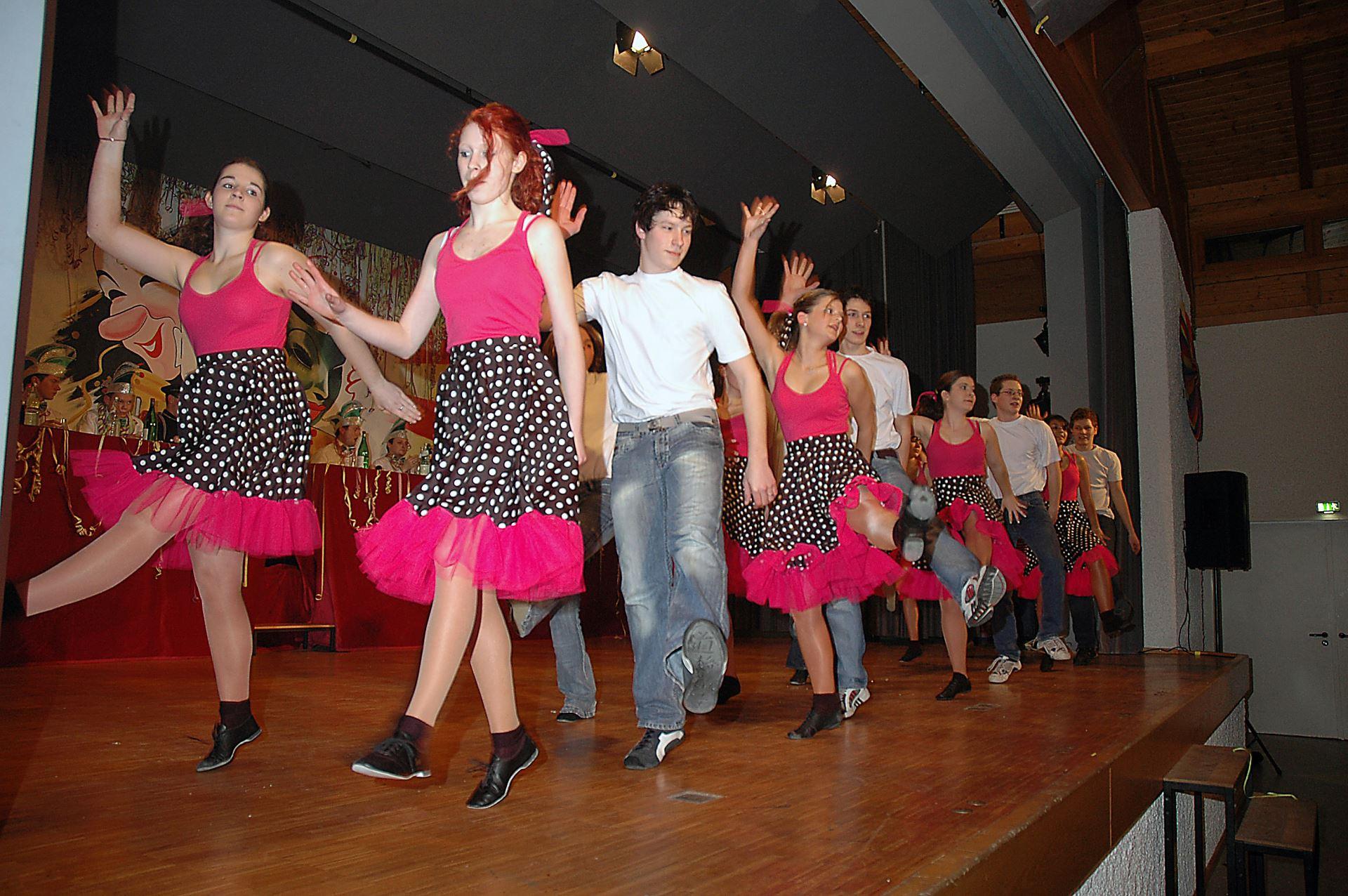 Fasentsitzung in Langenbrand 2006 (15)