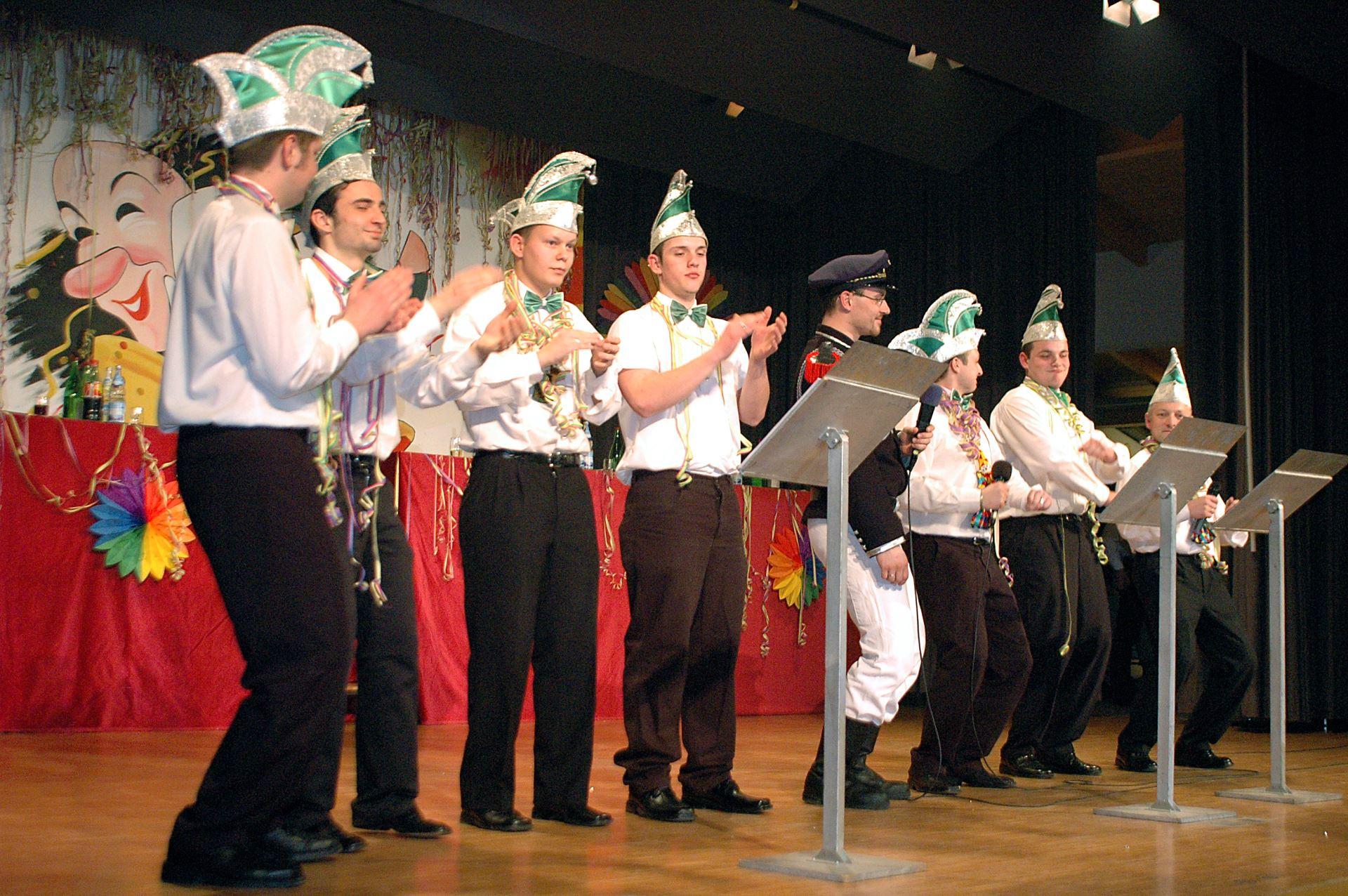 Fasentsitzung in Langenbrand 2006 (23)