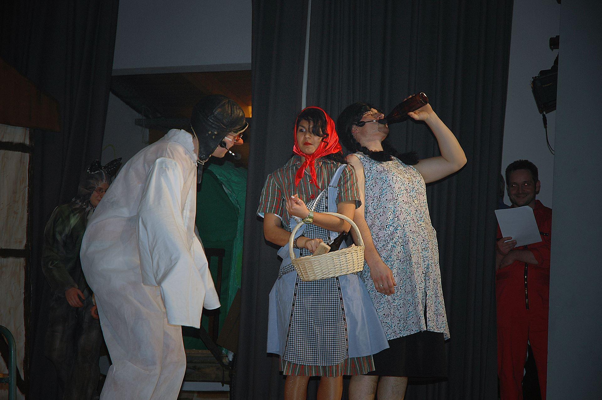 Fasentsitzung in Langenbrand 2006 (51)