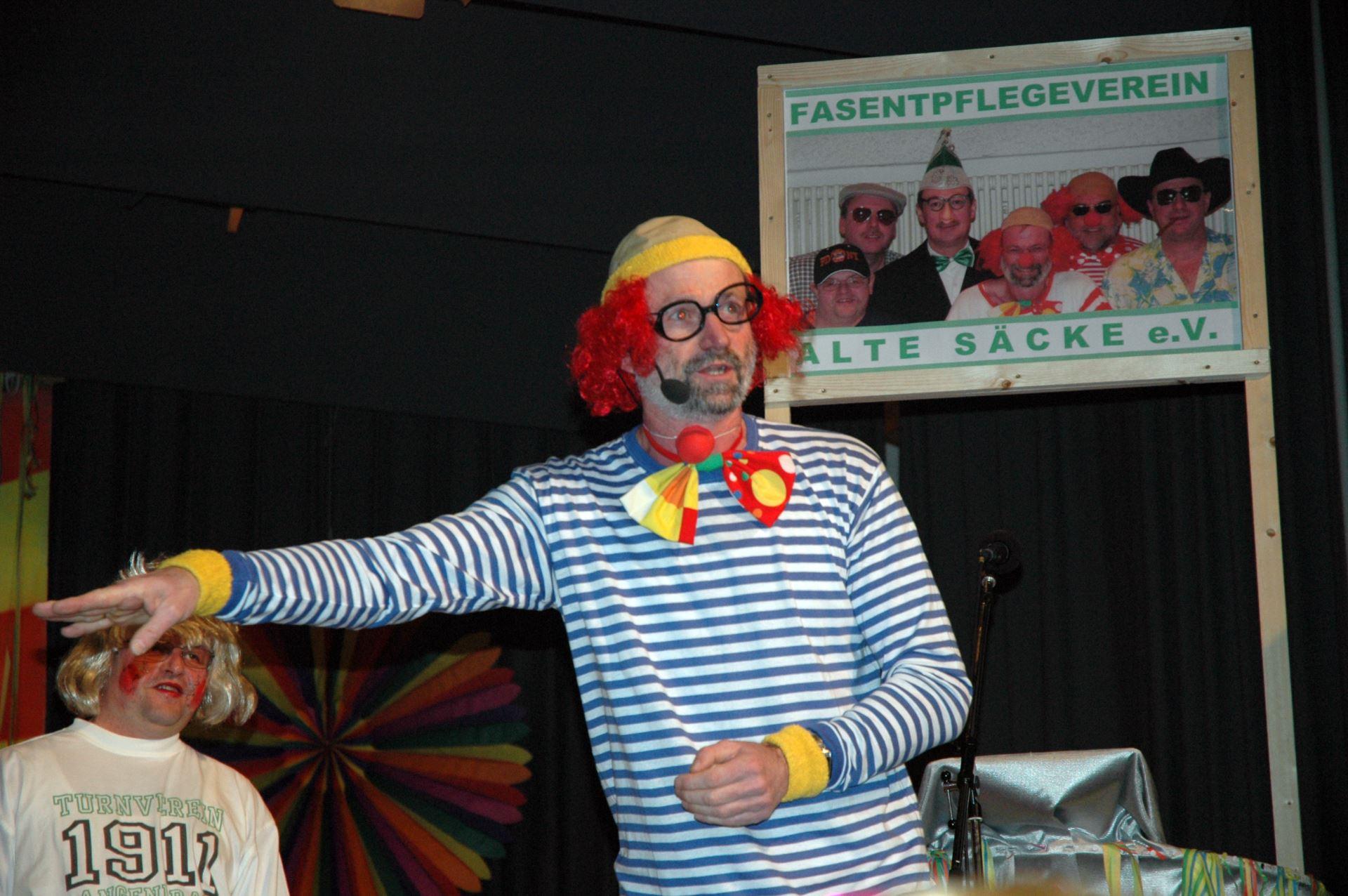 Fasentsitzung in Langenbrand 2007 (19)
