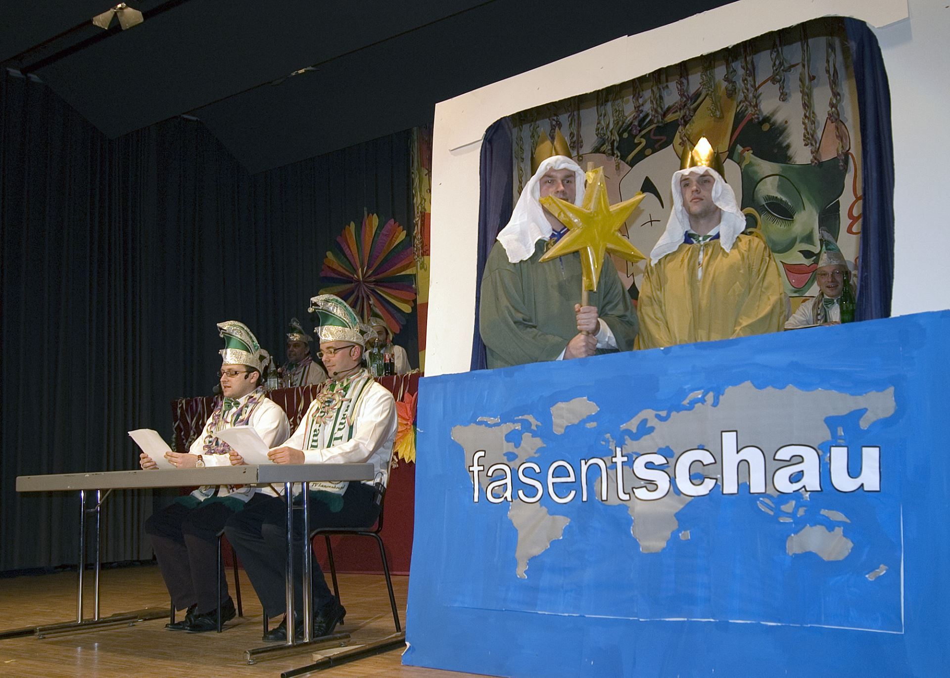 Fasentsitzung in Langenbrand 2008 (03)