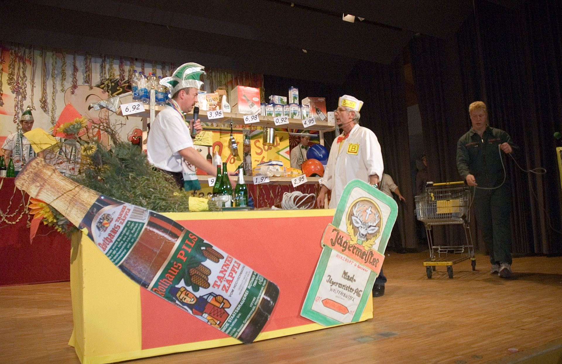 Fasentsitzung in Langenbrand 2008 (21)