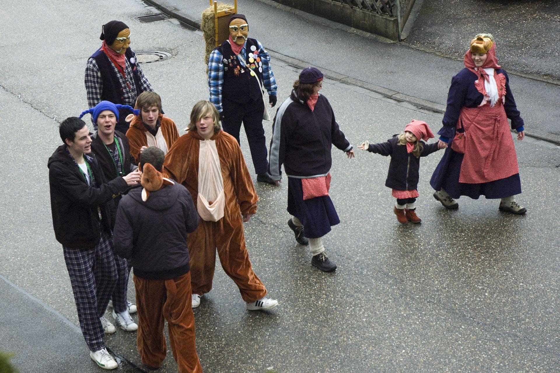 Fasentsitzung in Langenbrand 2009 (03)