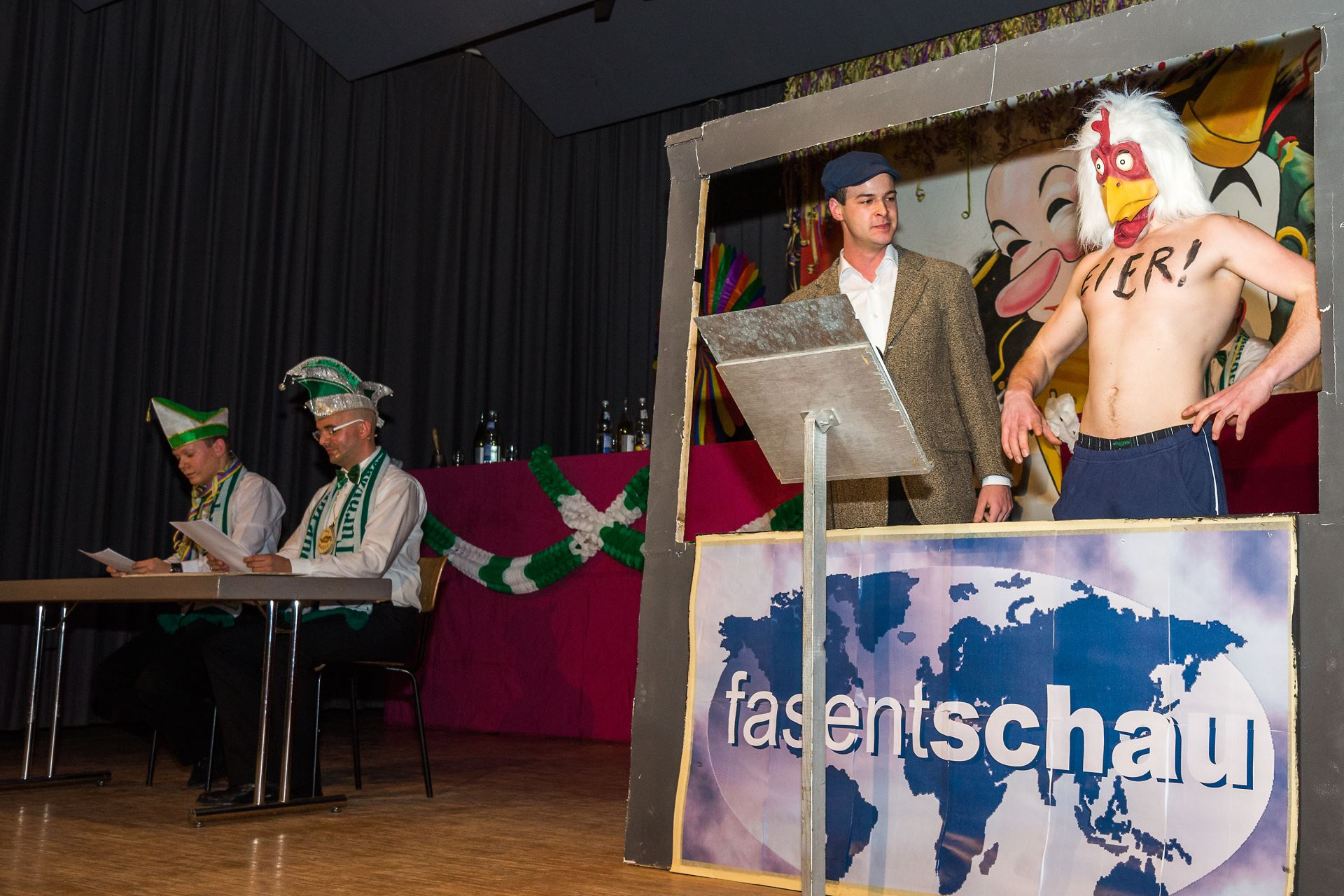 Fasentsitzung in Langenbrand 2014 (027)