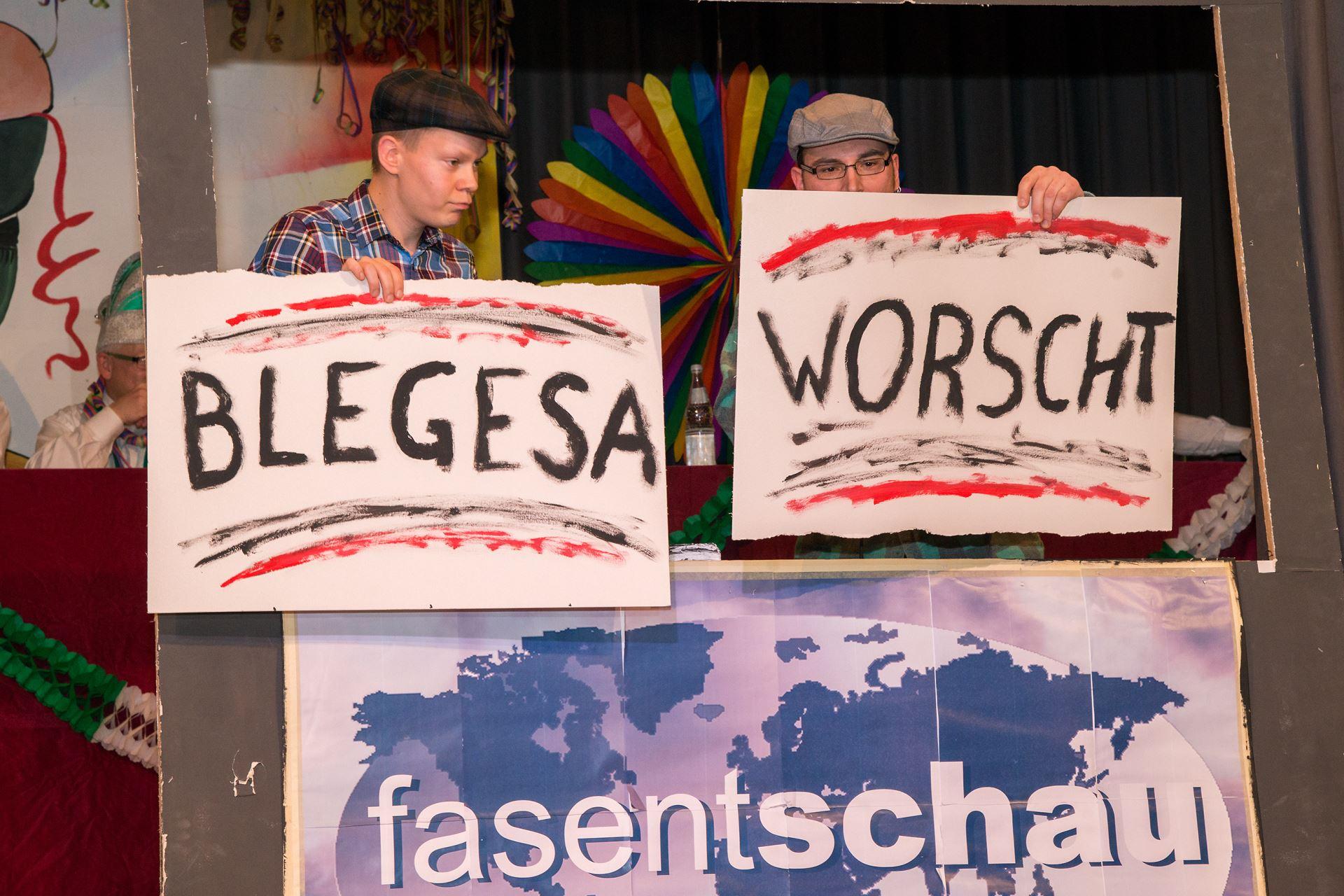 Fasentsitzung in Langenbrand 2015 (15)