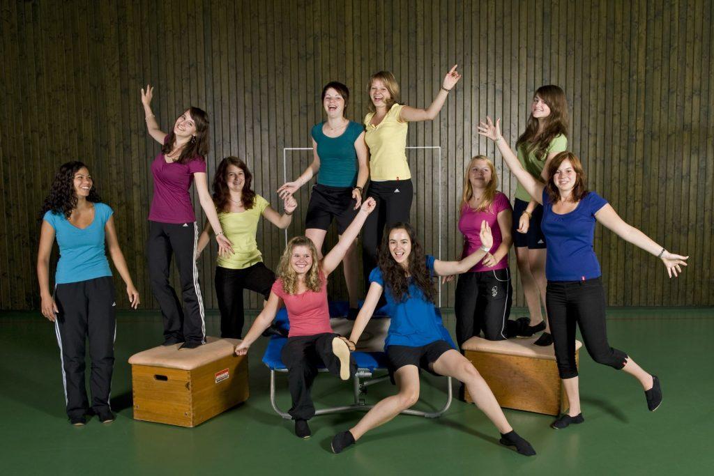 Gruppenbild, Jugendturnen (Gruppe 1) im Jahr 2010