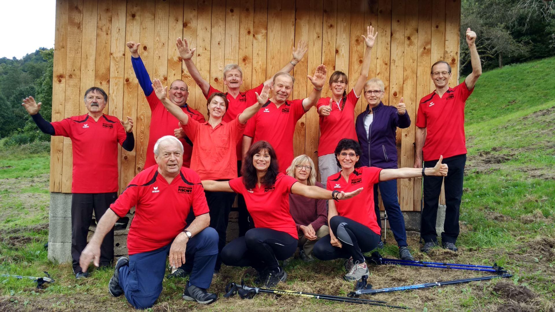 Nordic Walking Gruppe im Jahr 2017 (04)
