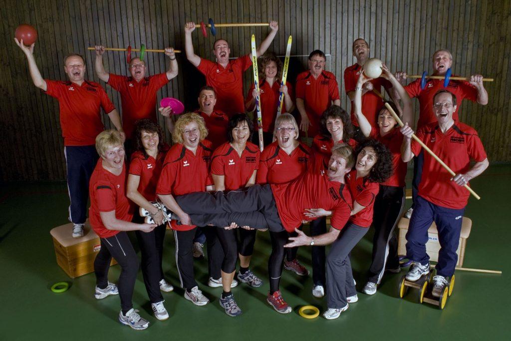 Gruppenbild, Ski & Fitness Gruppe im Jahr 2010